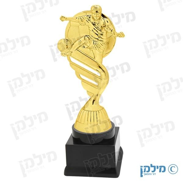 """פסלון כדורגל מדגם """"זהבי"""""""