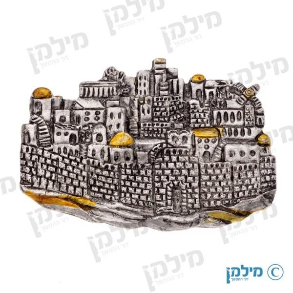 תבליט ירושלים פנורמה