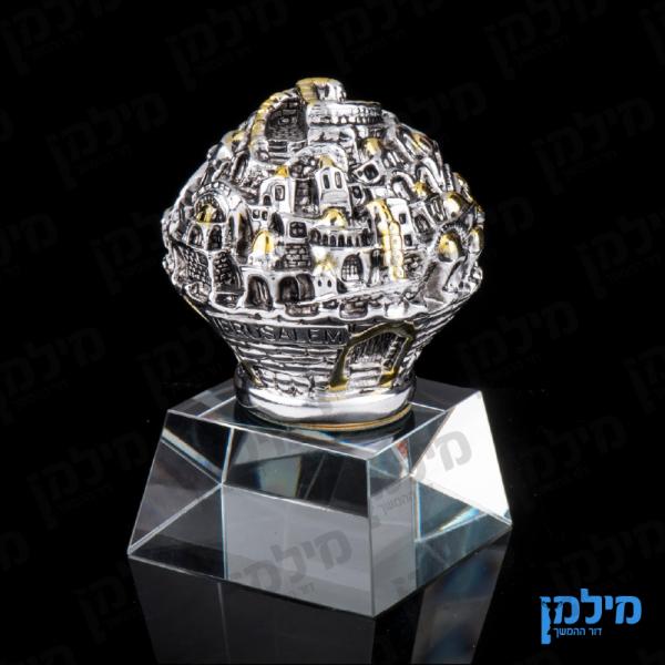 כדור ירושלים על בסיס קריסטל