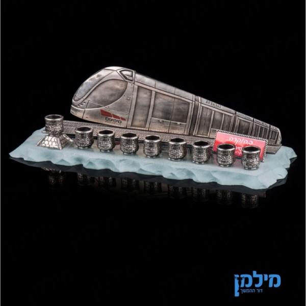 חנוכית הרכבת הקלה של ירושלים