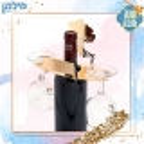 מעמד מחזיק כוסות לבקבוק יין